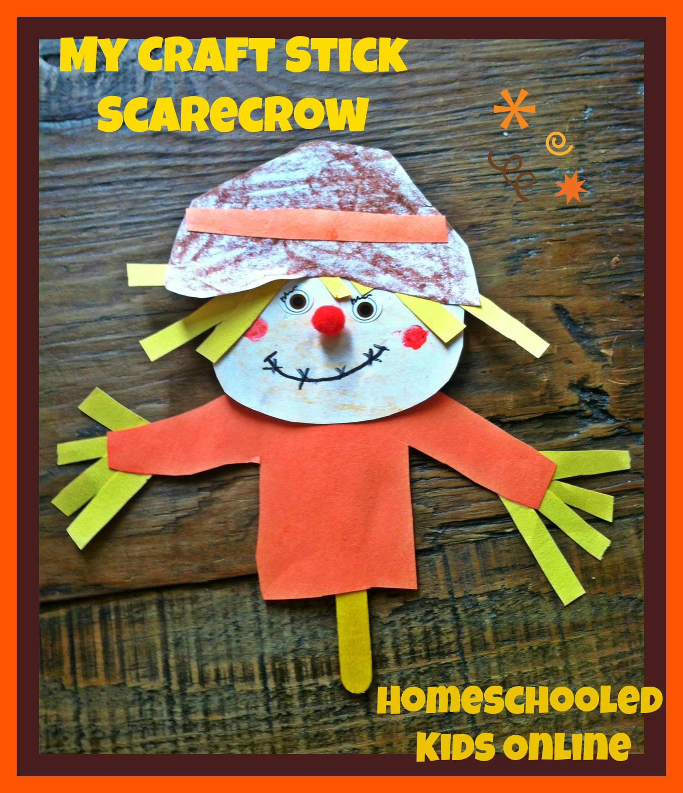 Magazine For Homeschooled Kids » Fall Crafts For Kids