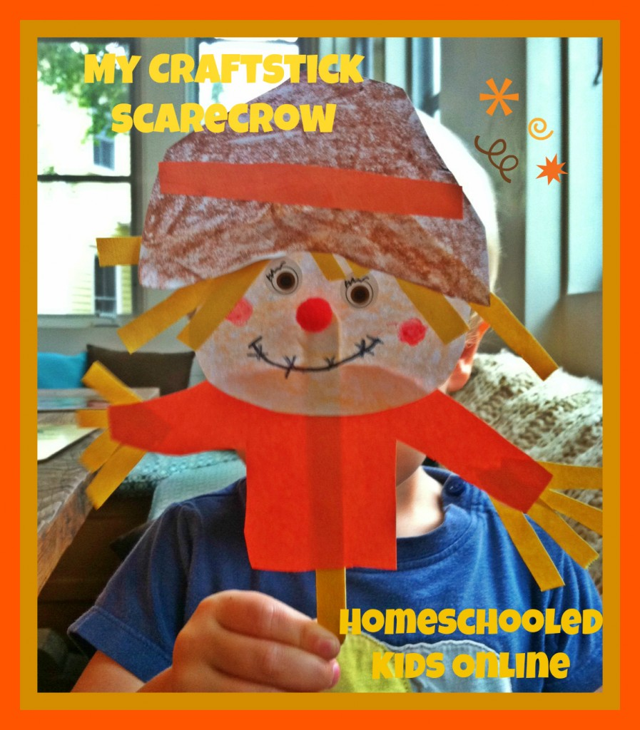 scarecrow craft for kids