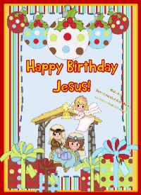 Happy Birthday Jesus for Kids