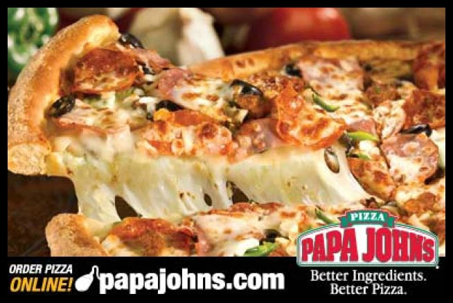 Papa Johns Giveaway