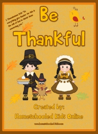 Be Thankful Devotion for Kids