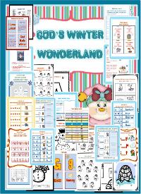 Winter Printable Packet