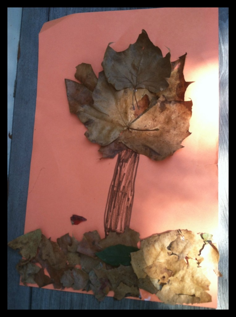 Fall Tree Leaf Craft for Kids