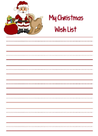 Advent Wish List
