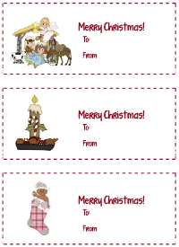 Advent Gift Tags