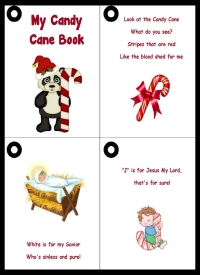 Candy Cane Printable Booklet