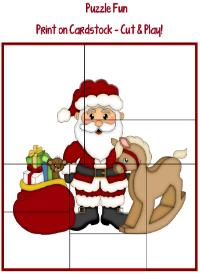 Advent Santa Puzzle