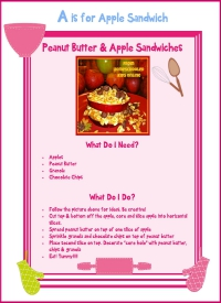 Apple Sandwich Recipe