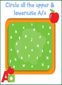 Letter Aa Case