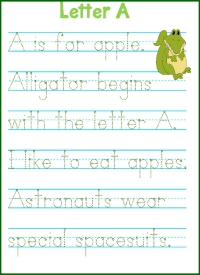 Letter A is for Alligator