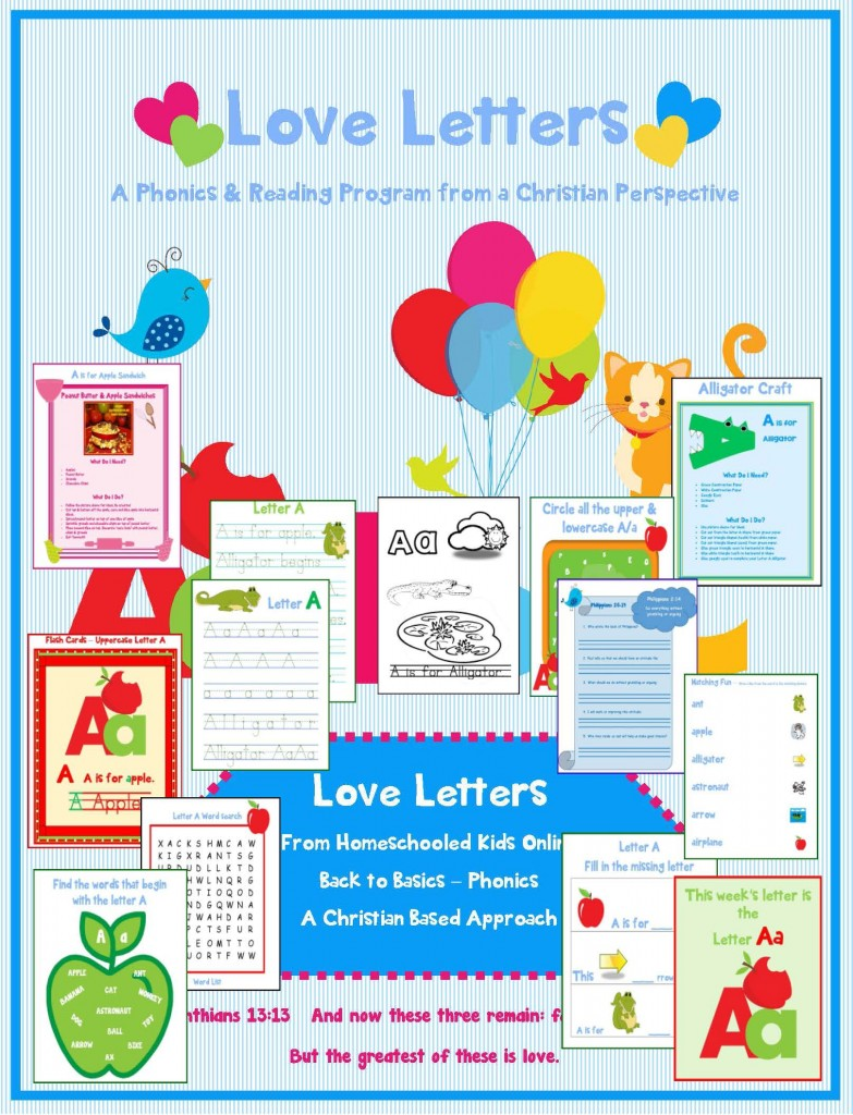 Letter A - Love Letters