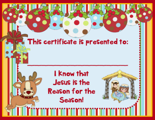 Jesus is the Reason for Christmas