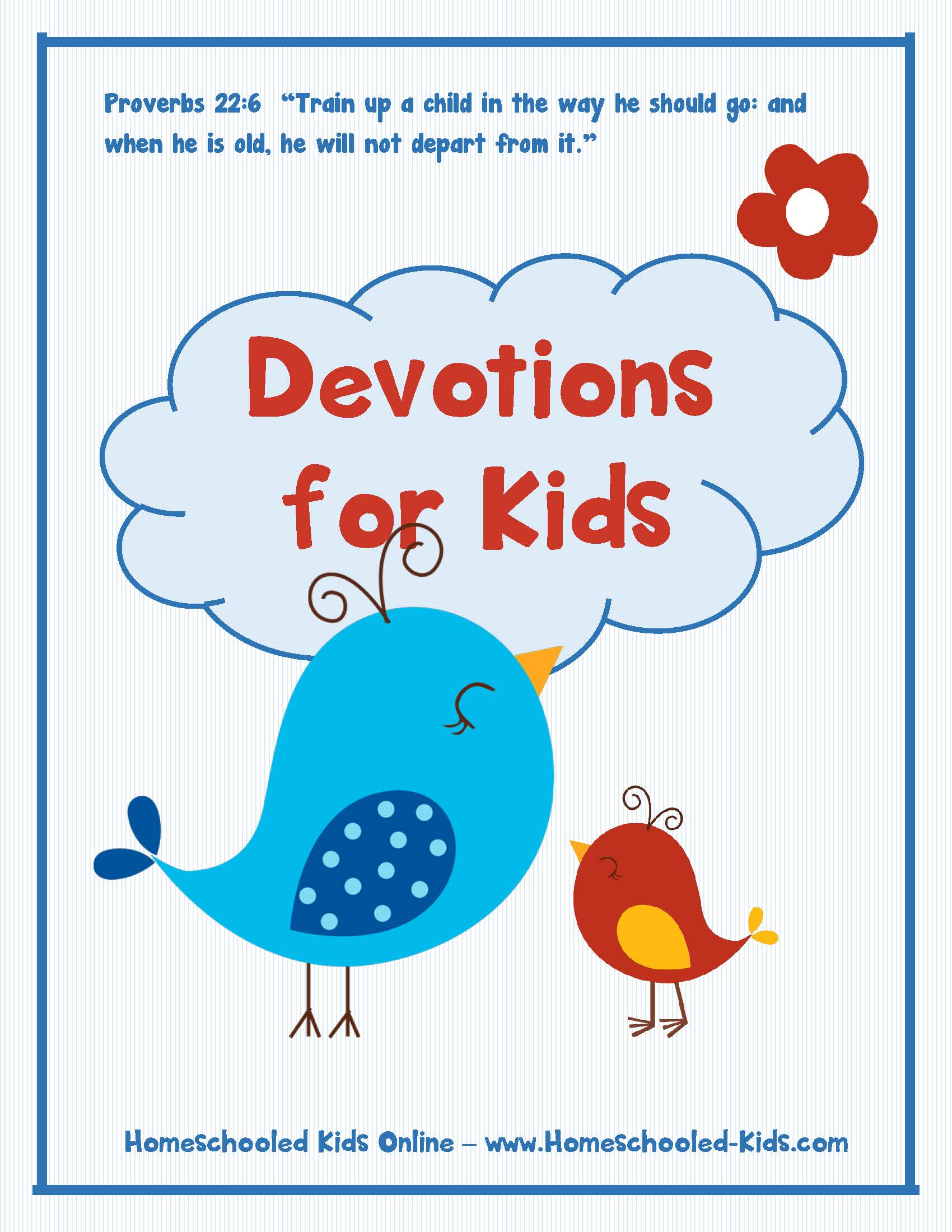 photograph regarding Printable Devotions for Tweens named Devotions for Young children Homeschooled Children On-line