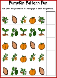 Pumpkin Pattern Activity