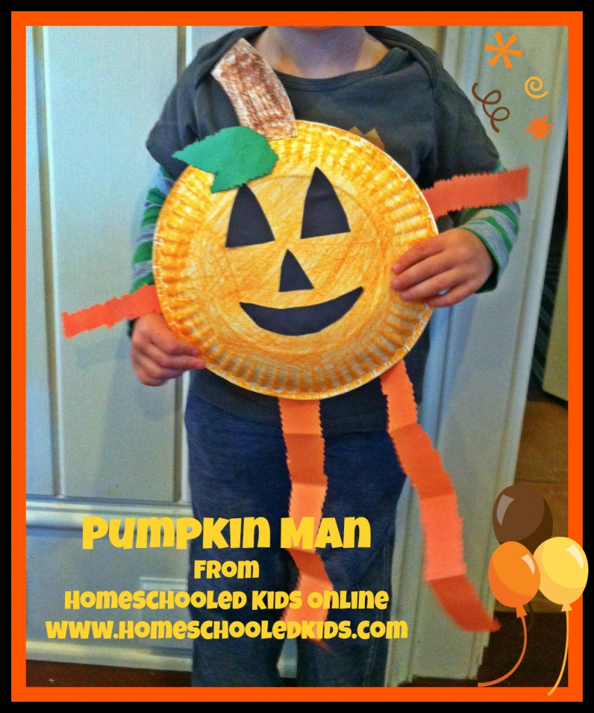 Pumpkin Man Craft