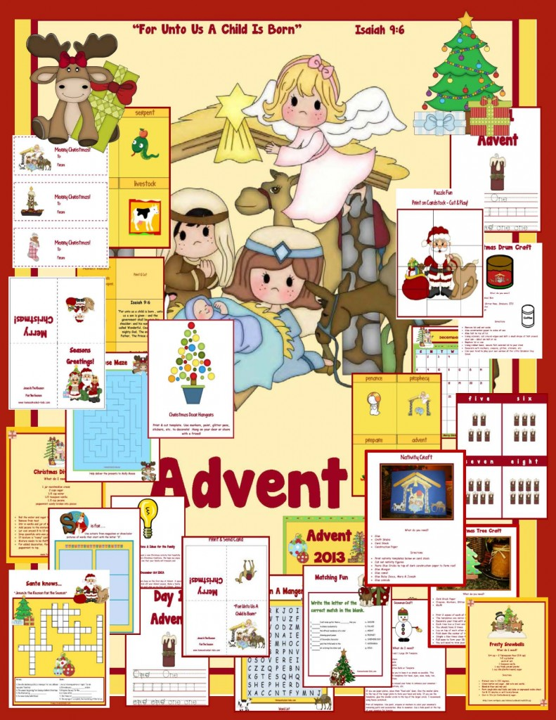 Advent Printable packet