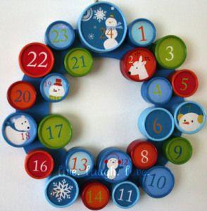 Advent Wreath Craft Countdown
