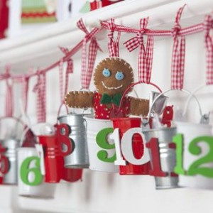 Advent Buckets Countdown Calendar