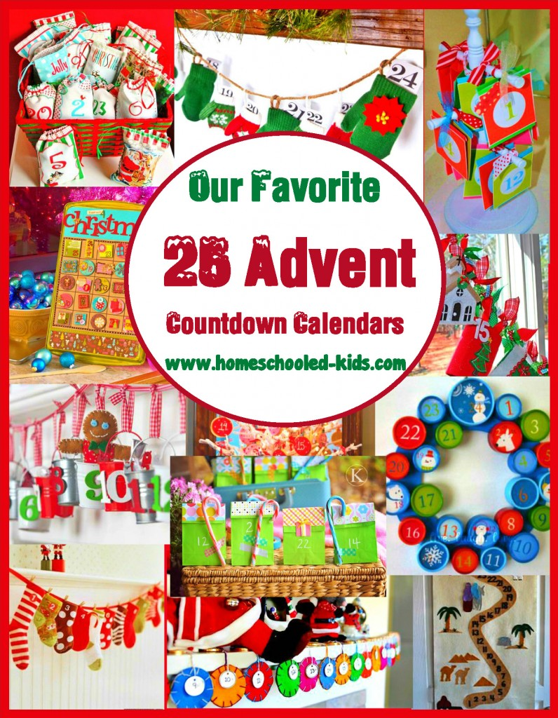 Advent Countdown Calendars