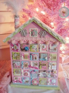 Cute Pink Advent Countdown