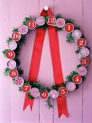 Advent Wreath Countdown