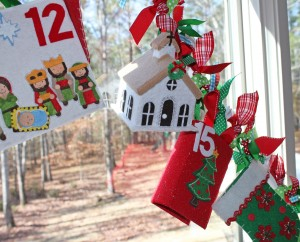 Advent Garland Countdown
