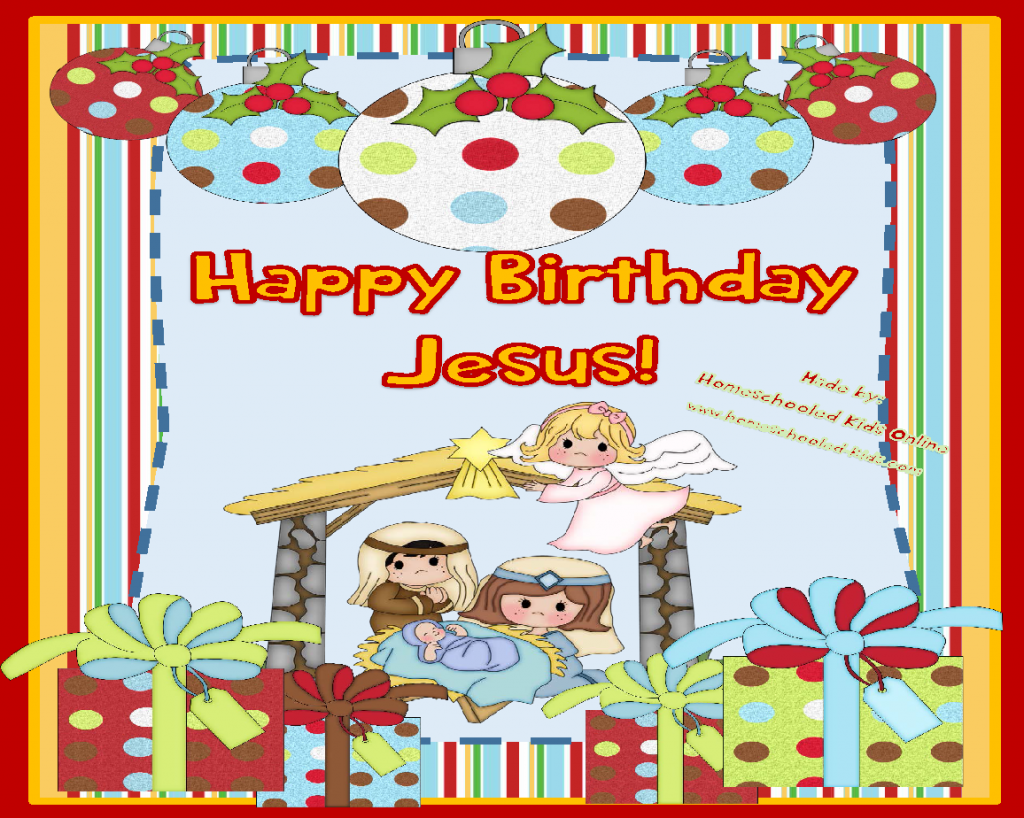 Happy Birthday Jesus Devotion for Kids