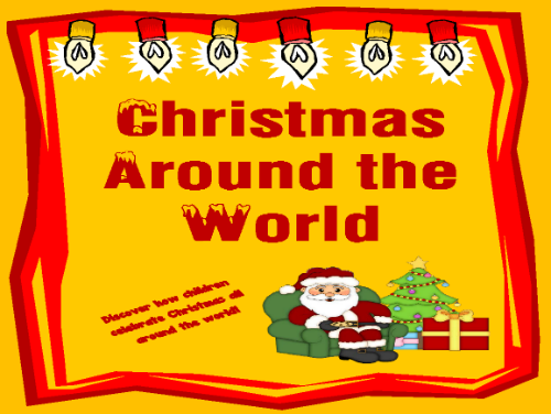 Christmas Around the World - FREE Printable Packet!!!