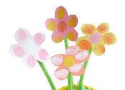 Fingerprint spring flower