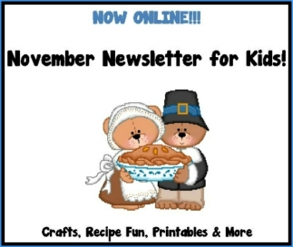November Newsletter for Kids